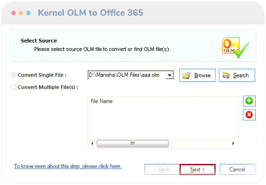 olm to office 365 migration