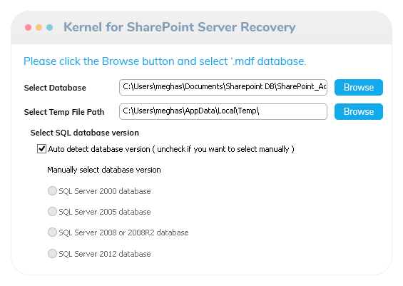 Kernel for SharePoint Recovery video thumb