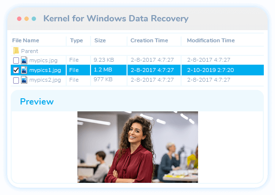 Windows data recovery software video