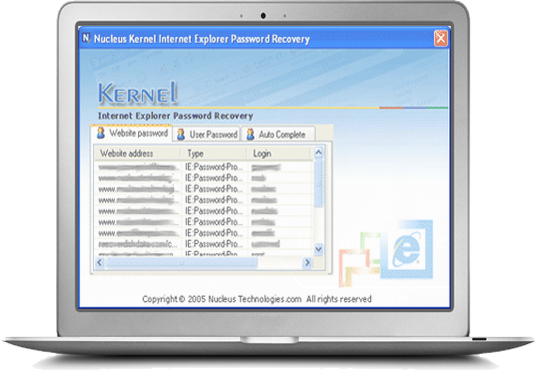 Kernel IE Password Recovery