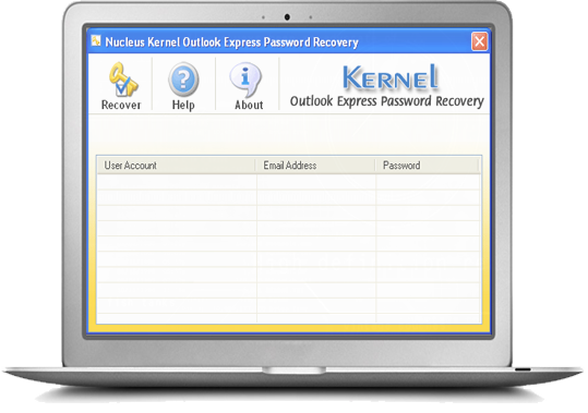 Kernel for Outlook Express Password Recovery