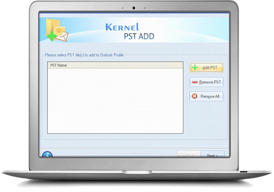 Kernel PST ADD