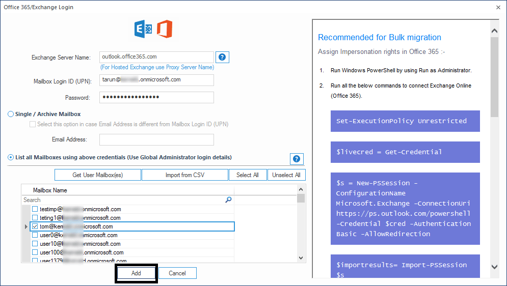 How to migrate public folders from Exchange to Office 365 shared