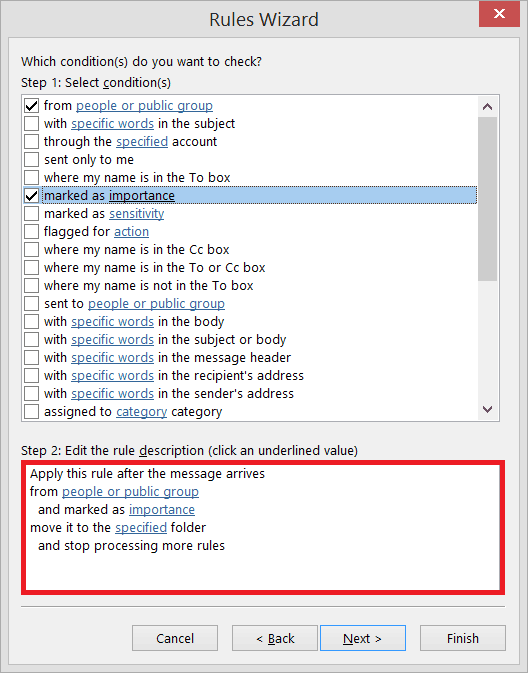 edited the Rule applicability