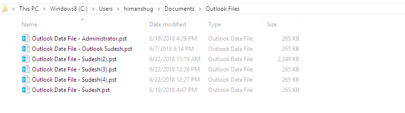 File can be located