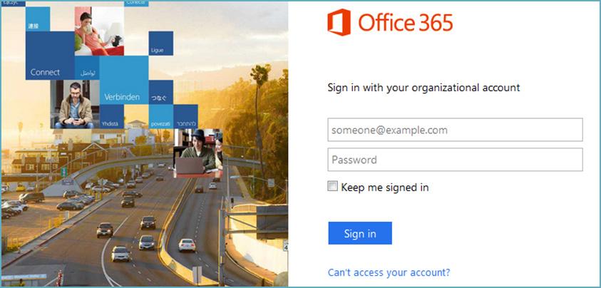 Login Office 365 account