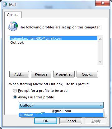 MS Outlook keeps on Receiving Error, Closes  Help Please