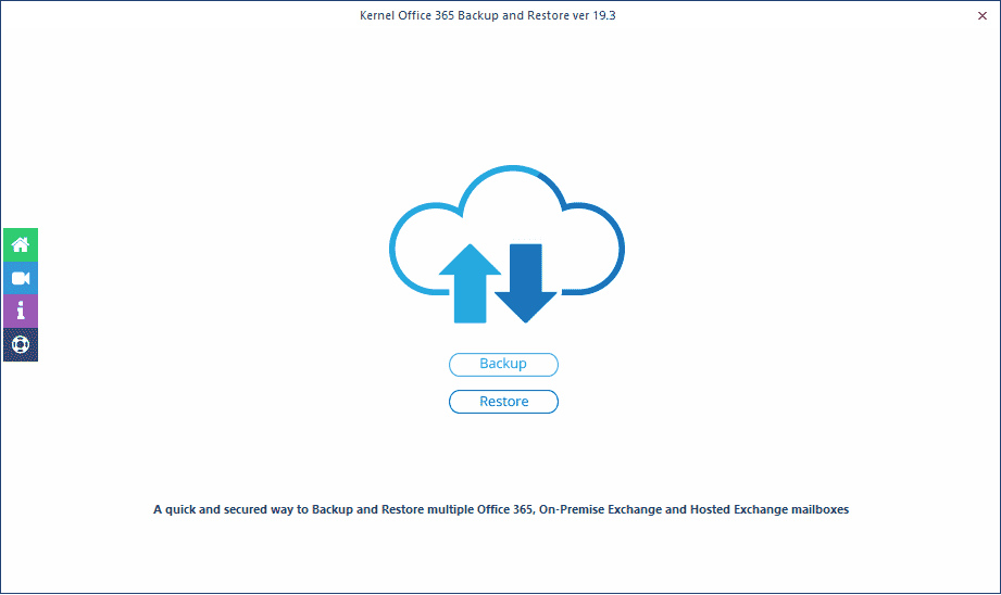 Office 365 Backup & Restore tool