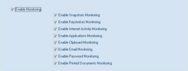 Set General Settings for Monitoring