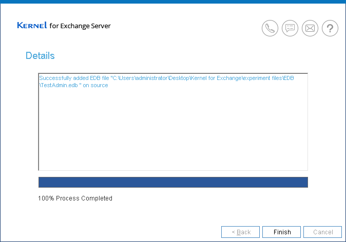 Fixing issues in EDB file