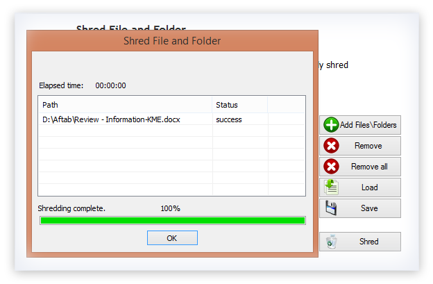 File Shredder Tool - Delete Files Permanently & Erase the Data