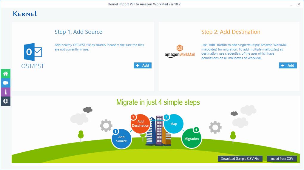 Click Download Sample CSV File