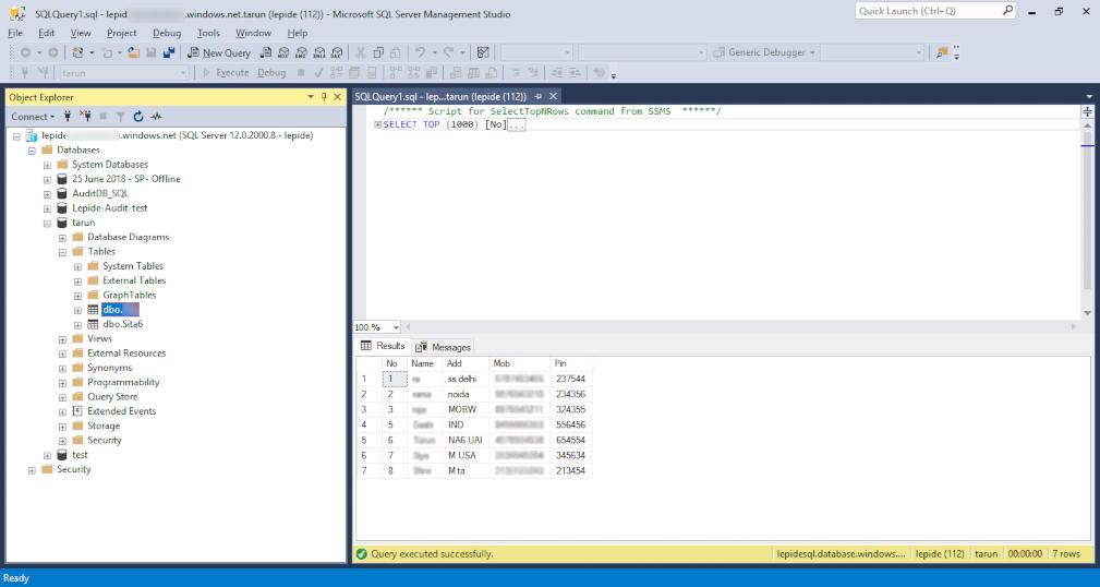 migrated using Kernel Migrator for SQL Server