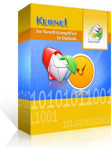 Kernel for Novell GroupWise to Outlook