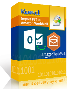 Kernel Import PST to Amazon WorkMail