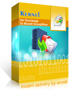 Kernel for Exchange to Novell GroupWise