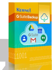 Kernel G Suite Backup Tool