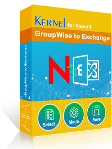 Kernel for Novell GroupWise to Exchange