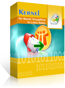 Kernel for Novell GroupWise to Lotus Notes