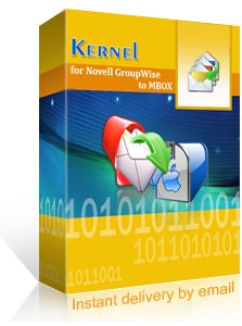 Kernel for Novell GroupWise to MBOX