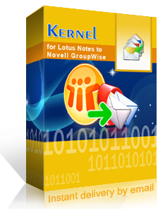Kernel for Lotus Notes to GroupWise