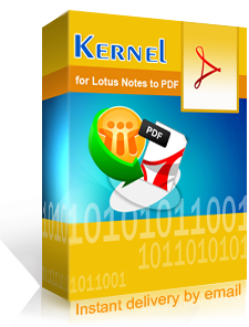 Kernel for Lotus Notes to PDF