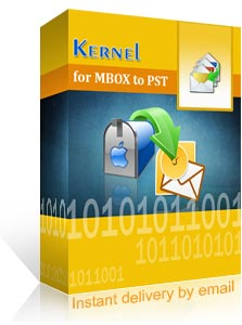 Kernel for MBOX to PST