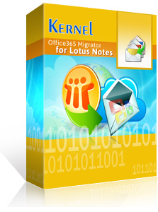 Kernel Office 365 Migrator for Lotus Notes