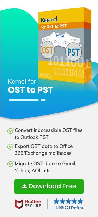 OST to PST Converter Full Version